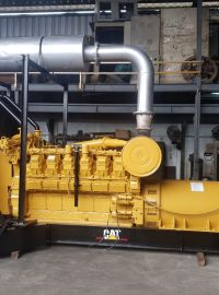 Genset Bekas Caterpillar Genset Bekas Caterpillar 3512, 1250 Kva, Tahun 2003 4 caterpillar_35125_1250_kva_tahun_2003_after_painting_and_recondition
