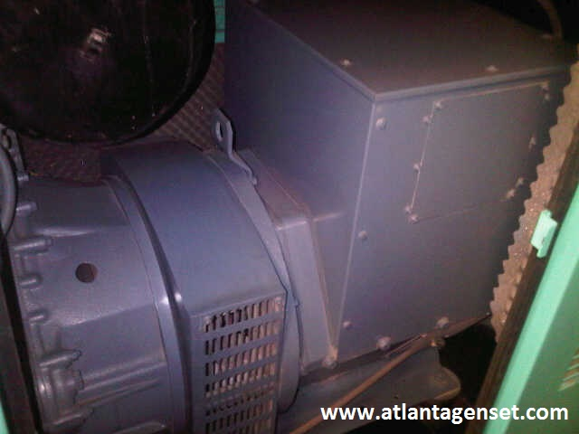 Genset Bekas Mitsubishi Genset Mitsubishi 6D22T + Siemens 100 Kva Tahun 2003 Silent Type genset mitsubishi 6 d 22 t siemens 100 kva silent tahun 2003 picture 3b